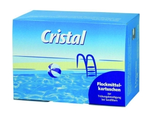 Cristal Flockmittelkartuschen, 1 kg