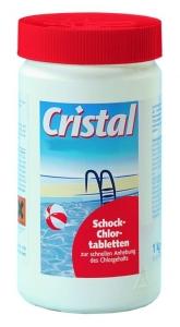 Cristal Schockchlortabletten, 1 kg