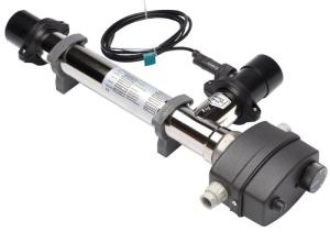 Elektro-Durchlauferhitzer zur Schwimmbadheizung (Elekro-Durchlauferhitzer: 3 kW)