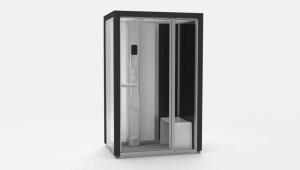 Dampfdusche Impression i130, Spa-Anlage auf kleinstem Raum