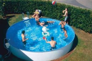 Rundbecken FUN als ALL-IN-Schwimmbeckenset in der Höhe 120 cm (Rundbecken FUN, Höhe 120 cm: ALL-IN-Aufstellbeckenset FUN, Durchmesser 320 cm, Inhalt ca. 10 m³)