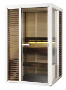 Saunakabine Impression i1313, Saunavergnügen auf kleinstem Raum