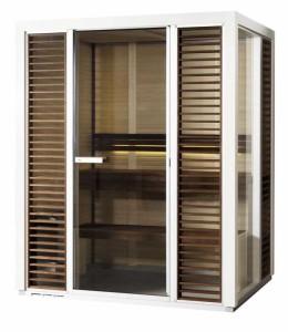Saunakabine Impression i1713, Saunavergnügen auf kleinstem Raum