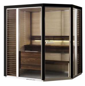 Saunakabine Impression i1915, Saunavergnügen auf kleinstem Raum