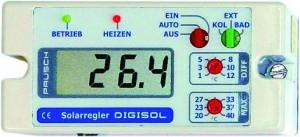 DIGISOL PAUSCH Solarsteuerung /230 V (Solarsteuerungen /230V: DIGISOL Solarsteuerung)
