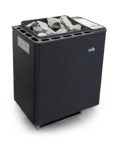 Saunaofen Bi-O Thermat mit Verdampfer von EOS als Wandausführung (Saunaofen mit Verdampfer Bi-O Thermat: Leistung 6,0 kW (Kabinengröße 6 - 8 m³))