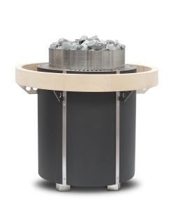 Runder Saunaofen Orbit von EOS, Standausführung