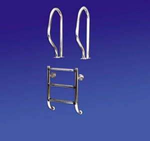 Einbauleiter DE LUXE (2-geteilte Leiter) (Einbauleiter DE LUXE: 300)