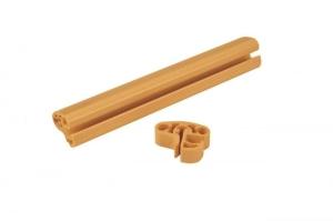 Ersatz-Handlauf-Paket für Achtformbecken, Kombihandlauf Farbe sand (Handlaufpaket Achtformbecken, Kombihandlauf: 470 x 300 cm)
