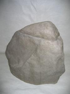 Filterabdeckung in Granit-Felsenoptik / 400 mm