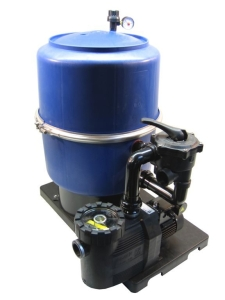 Filteranlage FP mit Pumpe Badu 90 (Filteranlage FP mit Badu 90: FP 400/9 s mit Badu 90/7)