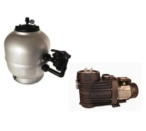 Filteranlage SUPER PK mit Speck-Pumpe ( Filteranlage SUPER PK mit Speck-Pumpe: PK 450 mit Bettar 8)