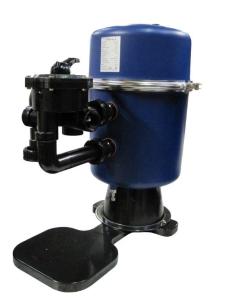 Filterkessel Serie FP mit Filterpalette und 6-Wege-Ventil (Filterkessel mt Filterpalette und 6-Wege-Ventil: FP 400, ø 400 mm)