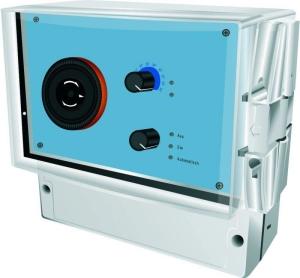 Filtersteuerung PoolControl (PoolControl mit Wasserfühler: 230V und zusätzlich mit 2 potentialfreien Schaltkontakten)