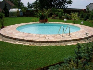 Rundbecken FUN von Future Pool als Komplett Set, Folie sand 0,6 mm (Rundbecken FUN, Komplettset: ø 350 cm / 120 cm Tief, Filteranlage TM320 mit Aqua Plus 4)