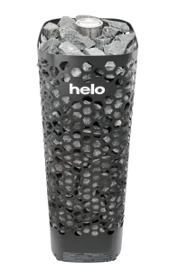 Saunaofen Himalaya von Helo (Saunaofen Helo Himalaya: Himalaya 105 BWT mit Steuerung Pure, Farbe schwarz)