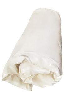 Ersatzinnenhülle Ovalbecken 0,8 mm, Farbe sand, mit Keilbiese (Folie 0,8 mm (LxBxH): 450 x 300 x 120 cm)