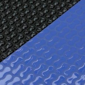 Isoplane Geobubble für Achtformschwimmbecken, blau/schwarz (Iso-Plane für Achteckbecken: 540 x 350 cm)