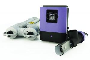 Infinity Senic UV- und Salzwasserelektrolyse für Ihren Pool (Infinity Senic UV- und Salzwasserelektrolyse: bis Beckengröße 200 m³)