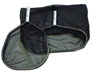 Bodenkescher Aluline schwarz, zur Säuberung ihres Schwimmbades