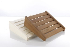 Kopf- oder Fußstütze für die Sauna (Kopf- oder Fußstütze: natur)