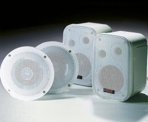 Lautsprecher für Ihr Dampfbad (Lautsprecher: Modell A)
