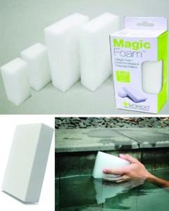 Magic Foam, der Reinigungsschwamm für das Schwimmbad