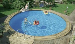Rundbecken-Komplettset von D&W Pool