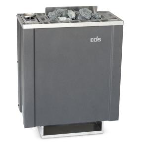 Saunaofen Bi-O Filius mit Verdampfer von EOS als Wandausführung (Saunaofen mit Verdampfer Bi-O Filius: Leistung 4,5 kW (Kabinengröße 4 - 6 m³))