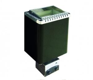Finnischer Saunaofen Ecomat II von EOS (Saunaofen Ecomat II Premium (Wandofen): Leistung 6,0 kW, Kabinenvolumen 6 - 8 m³)