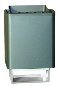 Finnischer Saunaofen Thermo-Tec von EOS (Wandausführung) (Thermo-Tec (Wandausführung): Leistung 6,0 kW (Kabinenvolumen 6 - 8 m³))