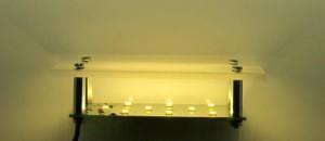 LED-Platine für Saunawandleuchte