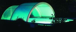 Schiebeüberdachung  SUN ROOF Classic, Hallenbreite 6,0 m