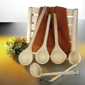Schöpfkellen aus Holz für Ihre Sauna (Schöpfkellen: Länge 40 cm)
