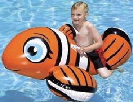 Schwimmtier Clown-Fisch