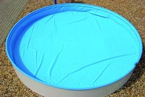 Sicherheits-Schwimmbadabdeckung Safe-Top für Ovalformbecken