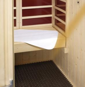 Sitztuch für Sauna, Dampfbad, Infrarotkabine