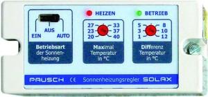 SOLAX PAUSCH Solarsteuerung /230 V (Solarsteuerungen /230V: SOLAX Solarsteuerung)