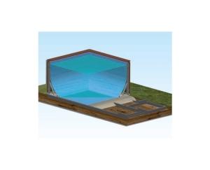 Stahl-Unterkonstruktion für Laghetto Dolce Vita (Stahl-Unterkonstruktion : für DOLCEVITA 2x4)