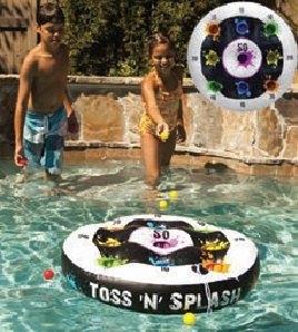 Toss- Wurfspiel fürs Wasser