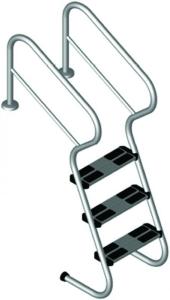 Leitern und Haltestangen
