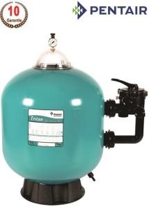 Triton TM Pentair Sandfilter für kristallklares Schwimmbadwasser (Trition TM Pentair Sandfilter und Ersatzteile: TR40 mit Ventil)
