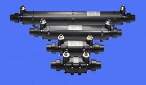 Wärmetauscher KWT-TI zur Schwimmbeckenheizung (Wärmetauscher mit Wandhalter: KWT-TI 25 kW)