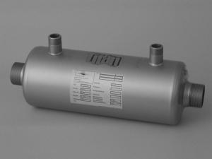 Titan-Wärmetauscher zur Schwimmbeckenheizung (Wärmetauscher Titan ohne Wandhalter: 40 kW)