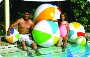 Wasserball XL (Wasserball: ø 90 cm)