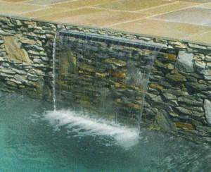 MagicFalls - Wasserfälle als Wasserattraktion für Ihren Pool (MagicFalls: MagicFalls Sheet 300 mm)