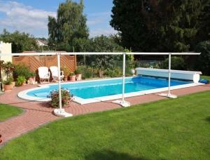 Winterstützen für Rollschutz, Future Pool (Winterstützen : für Becken von 2,85 - 3,65 m Länge)