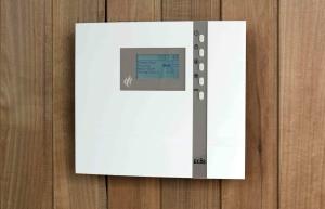 ECON H3, Saunasteuergerät für Saunaöfen mit Feuchtebetrieb