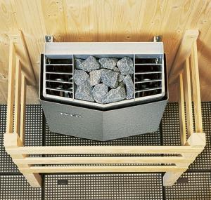 Ofenschutzgitter von Tylö für Ihre Sauna (Ofenschutzgitter: für Tylö-Öfen 2,2 - 8 kw, 70 x 44,8 cm, für Eckmontage)