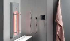 Infrarot für Dampfbad und Dusche von Repabad